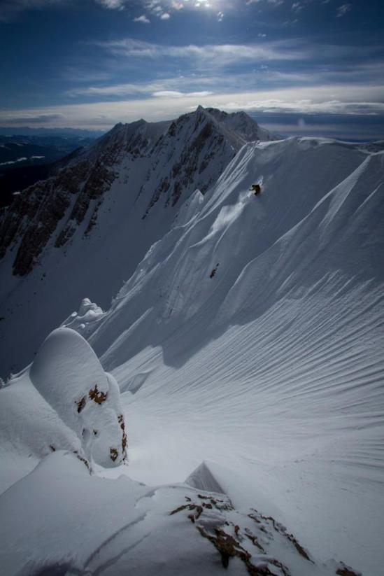 Dylan Crossman crushing a spine in ....... ....Photo: Axel Peterson